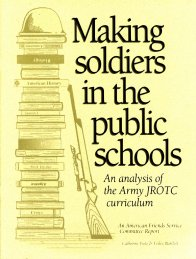 Making Soldiers in the Public Schools